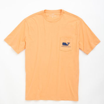 Heather Whale Graphic Pocket T-Shirt