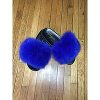 COOKIE MONSTER FUR