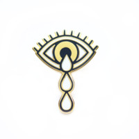 Crying Eye Pin