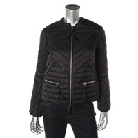 Tommy Hilfiger Womens Down Quilted Jacket