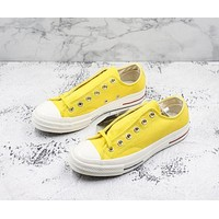 Converse Chuck Taylor All Star 1970s Low Top Heritage Yellow Canvas Sneakers