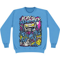 A Day To Remember Men's  Attack Of The Killer B-Sides Sweatshirt Blue Rockabilia