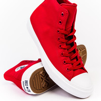 Converse Chuck Taylor  All Star II Red Hi Sneaker