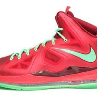Nike Mens Lebron X Christmas Day Red Tremlin 541100-600