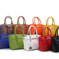 ONETOW Best Online Sale Hermes Women Shopping Leather Crossbody Satchel Shoulder Bag Handbag And Wallet Total 9 Color