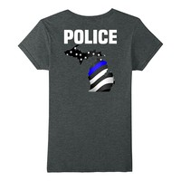 Michigan Police Officer T-Shirt for LEO Cops Law Enforcement