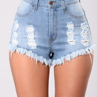 What The Fray II Shorts - Light Blue