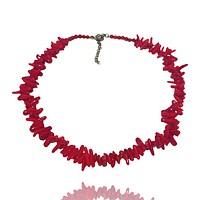 Branch Coral Short Necklace