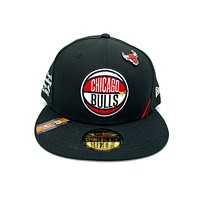 New Era 59FIFTY Draft Chicago Bulls Fitted Hat Black