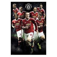 Manchester United 2015-16 Players Poster 61 X 92cm (173129)