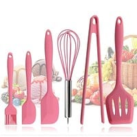 Pink Silicone Cookware Sets