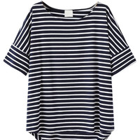 Black Stripes Short Sleeve T-shirt