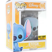 Funko Disney Lilo & Stitch Pop! Flocked Stitch Vinyl Figure Hot Topic Exclusive