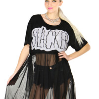 TOTAL SLACKER SHEER DRESS