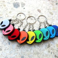 Power Aliens keychains/UFO/Colorful/Cutie/OVNI