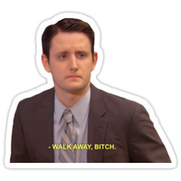 'Gabe - The Office' Sticker by TellAVision