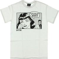 Thrasher Boyfriend Tee Large White
