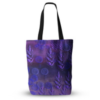 """Marianna Tankelevich """"Summer Night"""" Purple Lavender Everything Tote Bag"""