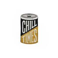 """""""Chill Times"""" Patch"""