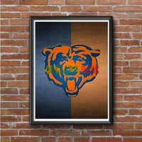 CHICAGO BEARS Photo Poster