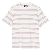Harbour Stripe Crew Natural