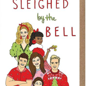 Sleighed by the Bell Card