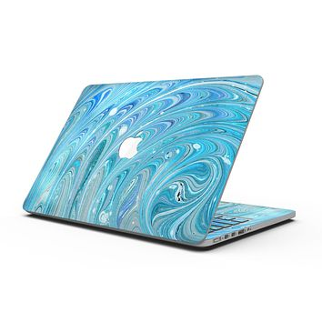 Mixed Blue Oil - MacBook Pro with Retina Display Full-Coverage Skin Kit