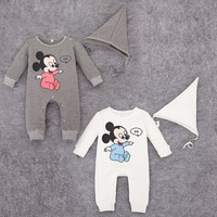 Kids Boys Girls Baby Clothing Toddler Bodysuits Products For Children Disney