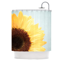 "Susannah Tucker ""Sunshine"" Sunflower Shower Curtain"