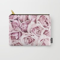 Blush Roses Carry-All Pouch by allisone