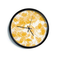 "Anchobee ""Summer""  Modern Wall Clock"