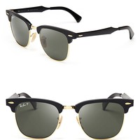 Ray-Ban Polarized Clubmaster Sunglasses | Bloomingdale's