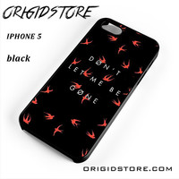 Twenty One Pilots Don't Let Me Be Gone 21 For Iphone 5 Iphone 5S Case UY