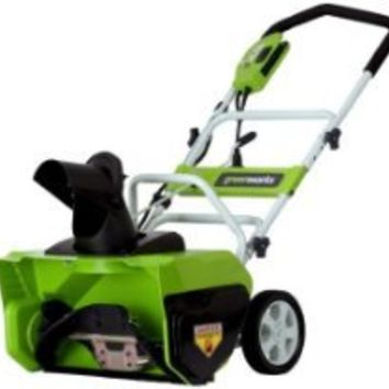 Greenworks 26032 20-Inch 12 Amp Electric Snow Thrower from Greenworks at the Best Buy Shop