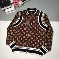 LV Louis Vuitton exclusive old flower stitching sweater