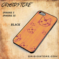 Wood Greedy Hello Kitty For Iphone 5 Case - Gift Present Multiple Choice