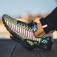 """Adidas""Chameleon Reflective Popular Women Casual Running Sneakers Sport Shoes I"