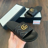 GUCCI gg Fashion casual slippers