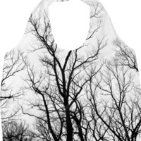 Cemetery Trees Eco Bag created by PoseManikin | Print All Over Me