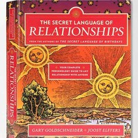The Secret Language Of Relationships By Gary Goldschneider & Joost Elferrs - Black One