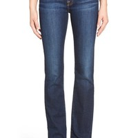 7 For All Mankind® 'Tailorless' Bootcut Jeans (New York Dark) (Short)   Nordstrom