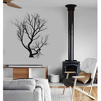 Vinyl Decal Tree Branches Forest Decor Living Room Wall Sticker Unique Gift (ig2790)