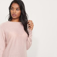Crossover Open Back Sweater