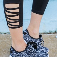 Featherweight Sneakers - Black & White
