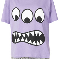Monster Print PJ Set - Lingerie & Nightwear - Clothing - Topshop