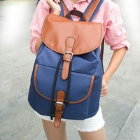 Back To School Hot Deal College On Sale Comfort Stylish Korean Casual Canvas Backpack [8267901575]