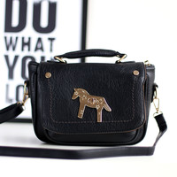 Korean Vintage Fashion Stylish Casual Ladies Strong Character Bags One Shoulder Tote Bag [4915788932]