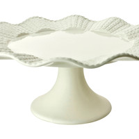 Renne Footed Cake Platter, Cake Stands & Tiered Trays