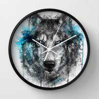 Alpha. Wall Clock by Emiliano Morciano (Ateyo)