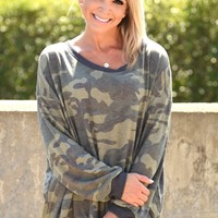 Hidden Treasure Top - Camo